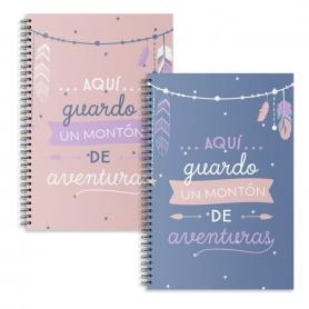 Notebook con frasi