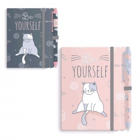 Quaderno Kitty con penna