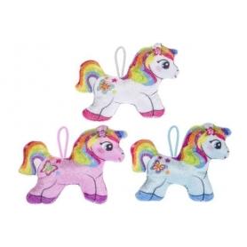 Piccolo peluche unicorno