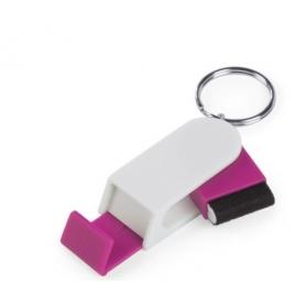 Portachiavi di supporto mobile rosa