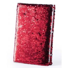 Notebook decorati con paillettes