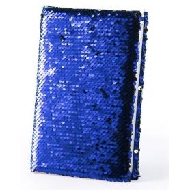 Notebook con paillette reversibile