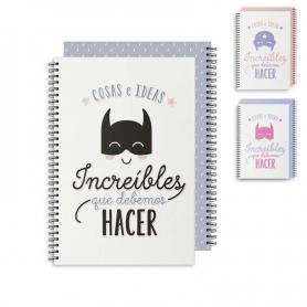 Notebook per supereroi