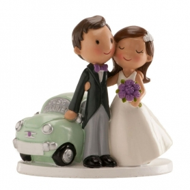 Figura fidanzata auto