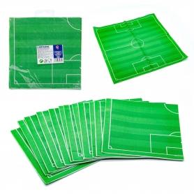 Confezione di tovaglioli di calcio