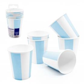Confezione tazze monouso blu