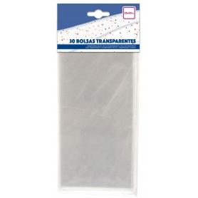 Confezione di sacchetti trasparenti