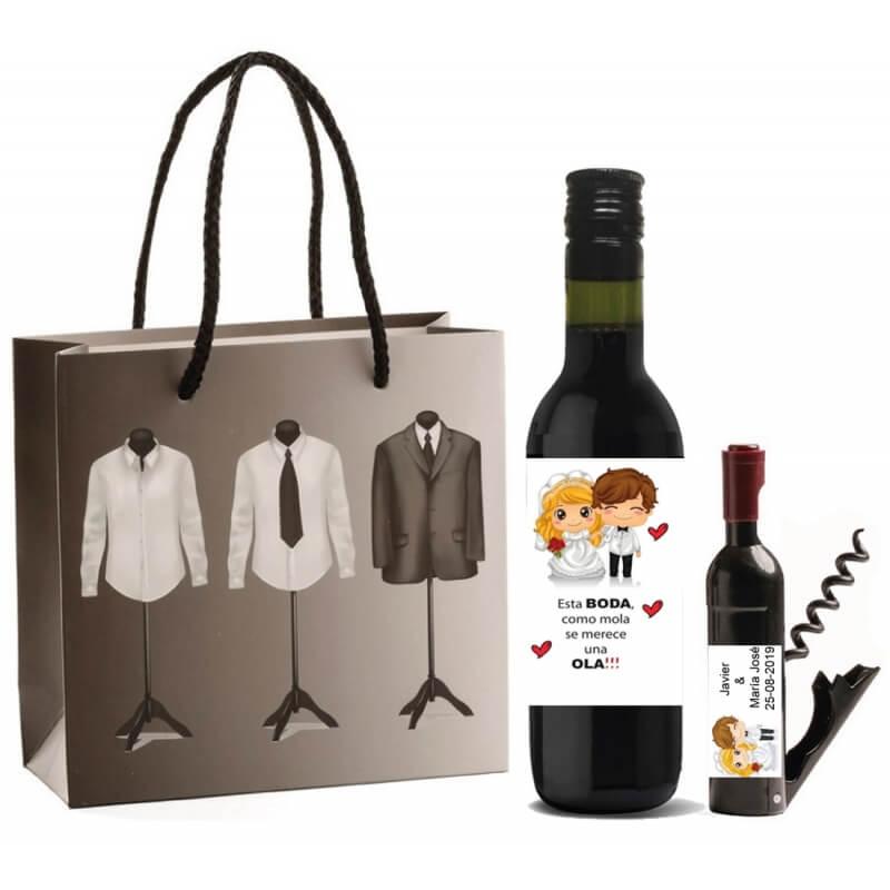 Set regalo vino