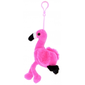 Peluche portachiavi Flamingo
