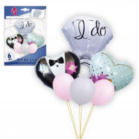 Confezione palloncini matrimonio