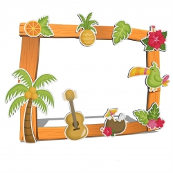 Photocall hawaiano