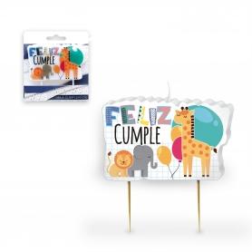 Candele di compleanno animali