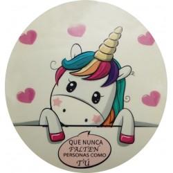 Adesivo unicorno