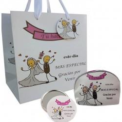 Set regalo para bodas con...