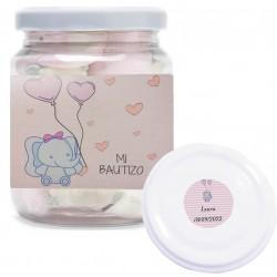 Bottiglia di plastica personalizzata con dolci nuvole per...