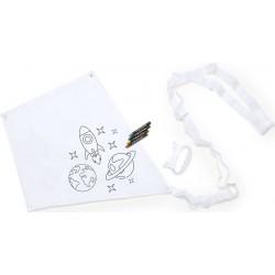 Fun Space Kite per bambini personalizzabile