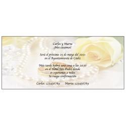 Inviti di perle originali