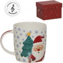 Divertente set di tazze natalizie con carillon