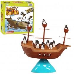 Gioco da tavolo Pirate Ship Penguins Overboard
