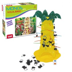 Divertente gioco di abilità Scimmie in equilibrio