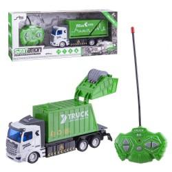 Giocattolo telecomandato del camion di riciclaggio