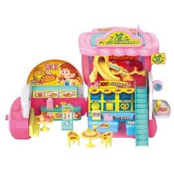 Registratore di cassa del ristorante giocattolo convertibile