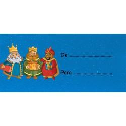 Adesivi per mettere i nomi sui regali dei Tre Re