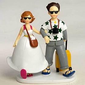 Figure fidanzati torta