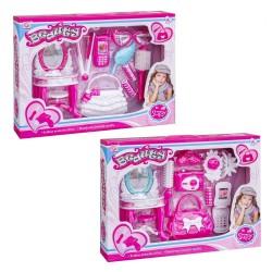 Set di bellezza per bambine in due modelli assortiti