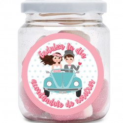 Vasetti di dolci per matrimoni