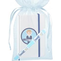 Penna comunione per bambini, con borsa e taccuino con...