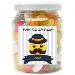 Vaso di dolcetti personalizzati da regalare a papà