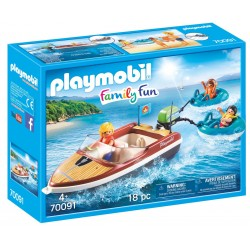 Playmobil Family Fun Boat with Floats