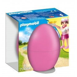 Playmobil Egg Waitress with Counter
