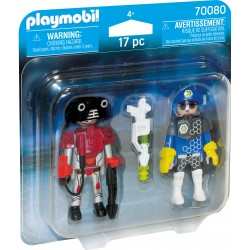 Playmobil Space Police and Thief Pack