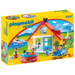 1, 2, 3 Playmobil Holiday Home For The Little Ones