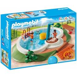 Piscina con doccia e altri accessori Playmobil