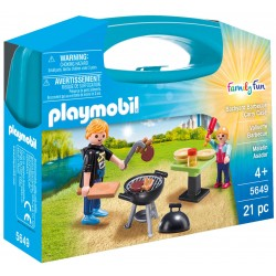 Cartella Playmobil Family Fum Barbecue