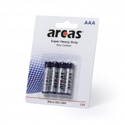 Blister 4 Batterie 1,5v Aaa / R03