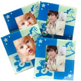 Sottobicchieri personalizzati con foto