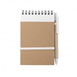 Quaderno Ecocard Bianco