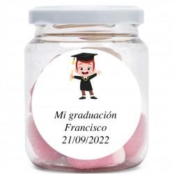 Chuche Jar per la laurea