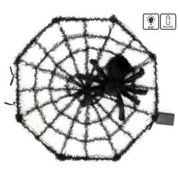 Ragnatela tarantola con luce 58 x 6 x 58 cm