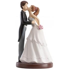 Figura che bacia i fidanzati