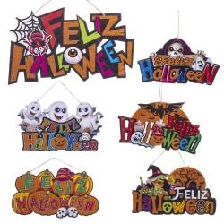 Poster Happy Halloween in schiuma 6/m 37 x 0,50 x 20 cm