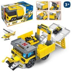 Veicoli parcheggio camion 25 x 14 x 15 cm