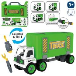Borsa per camion riciclaggio 4 in 1 36 x 10 x 18 cm