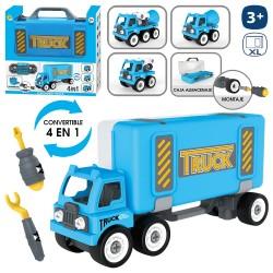 Valigetta per camion 4 in 1 della polizia 36 x 10 x 18 cm