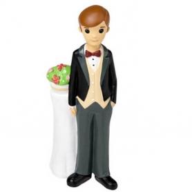Figura di torta nuziale dello sposo