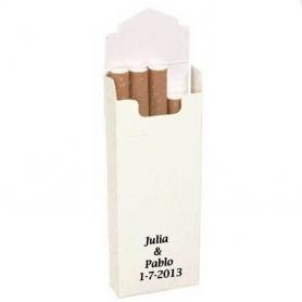 Confezioni di tabacco bianco